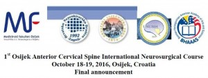 the-1st-osijek-anterior-cervical-spine-international-neurosurgical-course